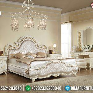 Jual Tempat Tidur Jepara Duco Gold White TTJ-0004