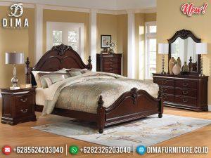 New Models Tempat Tidur Jepara Jati TTJ-0002