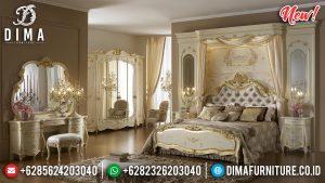 New Tempat Tidur Jepara Terbaru Ivory Golden TTJ-0005