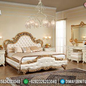 Tempat Tidur Jepara Mewah Gold Duco TTJ-0001