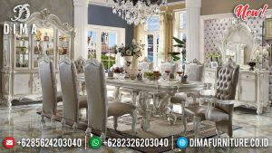 Jual Meja Makan Klasik Jepara TTJ-0028