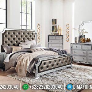 Jual Tempat Tidur Modern Minimalis Motif Kaca TTJ-0063