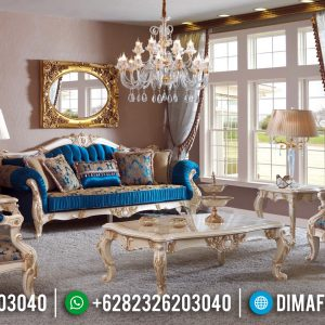New Model 2020 Set Sofa Tamu Mewah Jepara TTJ-0016