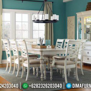 New Set Meja Makan Minimalis Duco Terbaru TTJ-0042