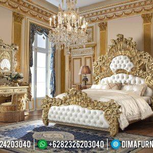 New Tempat Tidur Mewah Klasik Full Ukiran Jepara TTJ-0060