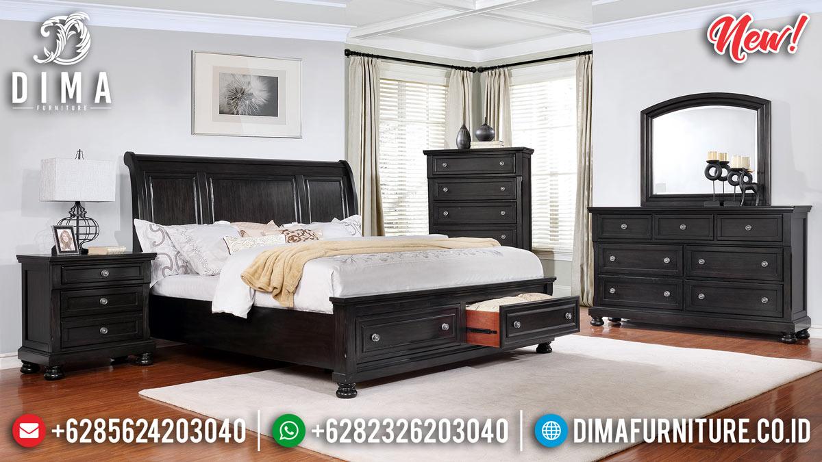 New Tempat Tidur Modern Model Laci TTJ-0096