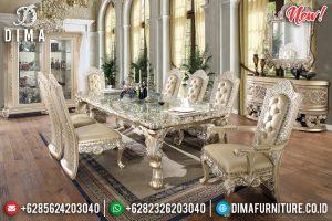 Set Meja Makan Mewah Champagne Klasik TTJ-0032