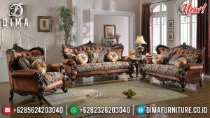 Set Sofa Tamu Jepara Mewah Ukir Jati 2020 TTJ-0014