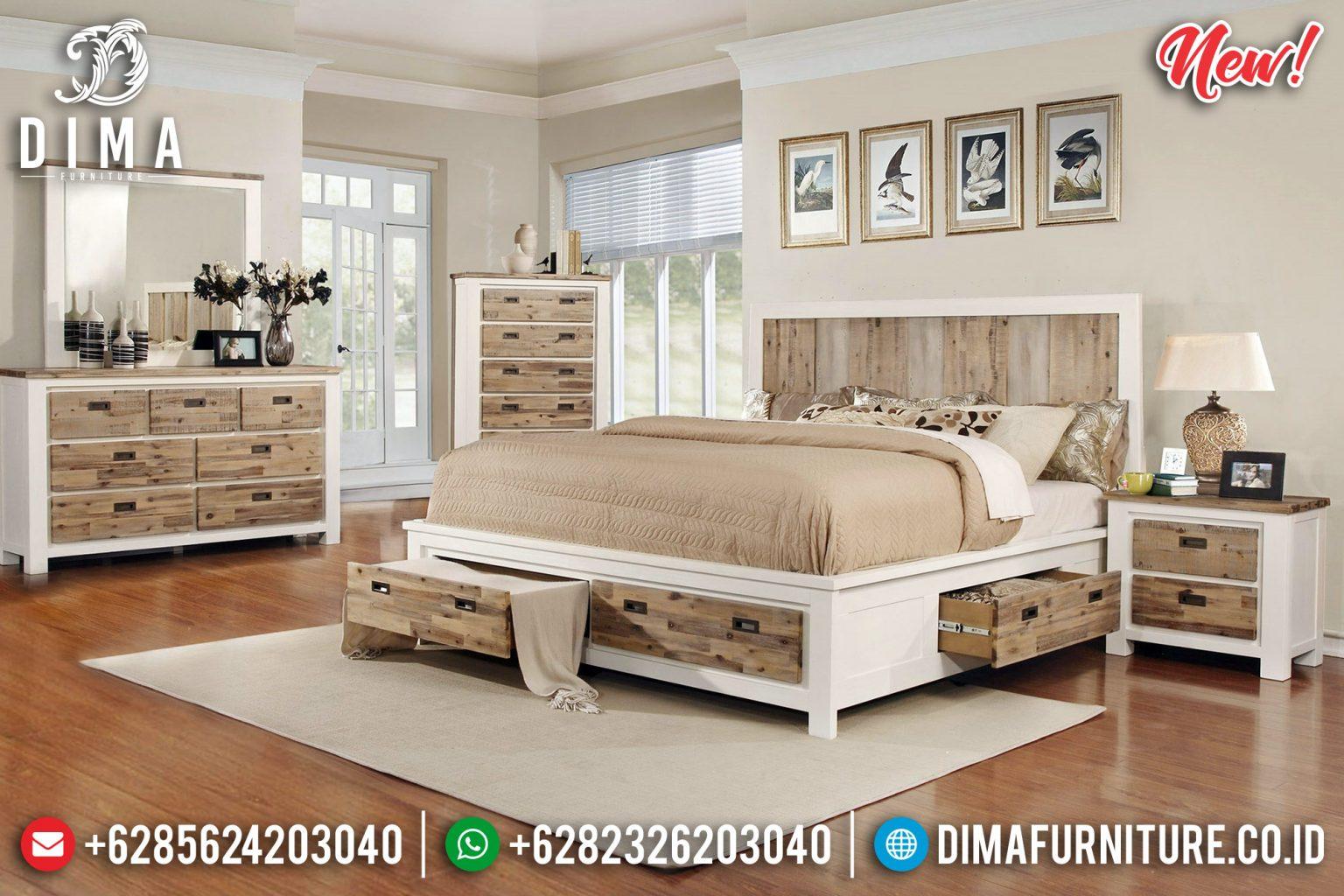 Tempat Tidur Minimalis Type Laci 2020 TTJ-0066