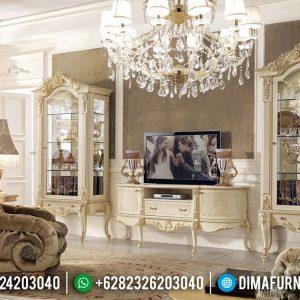 Beli Meja TV Lemari Hias Mewah Gaya Italian TTJ-0118
