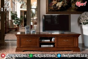 Buffet TV Minimalis Klasik Natural Venezia TTJ-0106