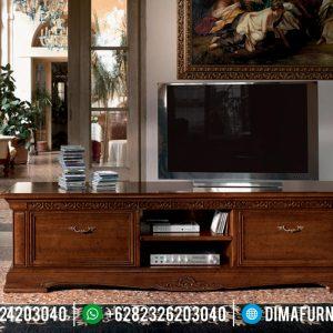 Buffet TV Minimalis Klasik Natural Venezia TTJ-0106