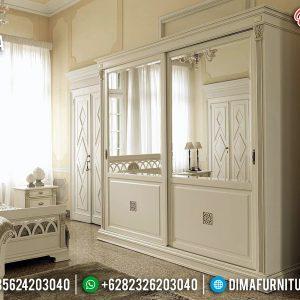 Desain 2020 Lemari Pakaian Mewah Modern Furniture Jepara TTJ-0169