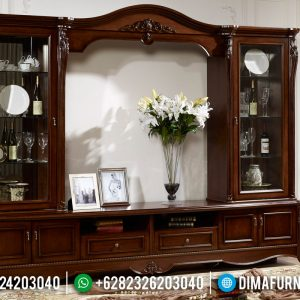 Mebel Jepara Klasik Bufet TV Palace TTJ-0112