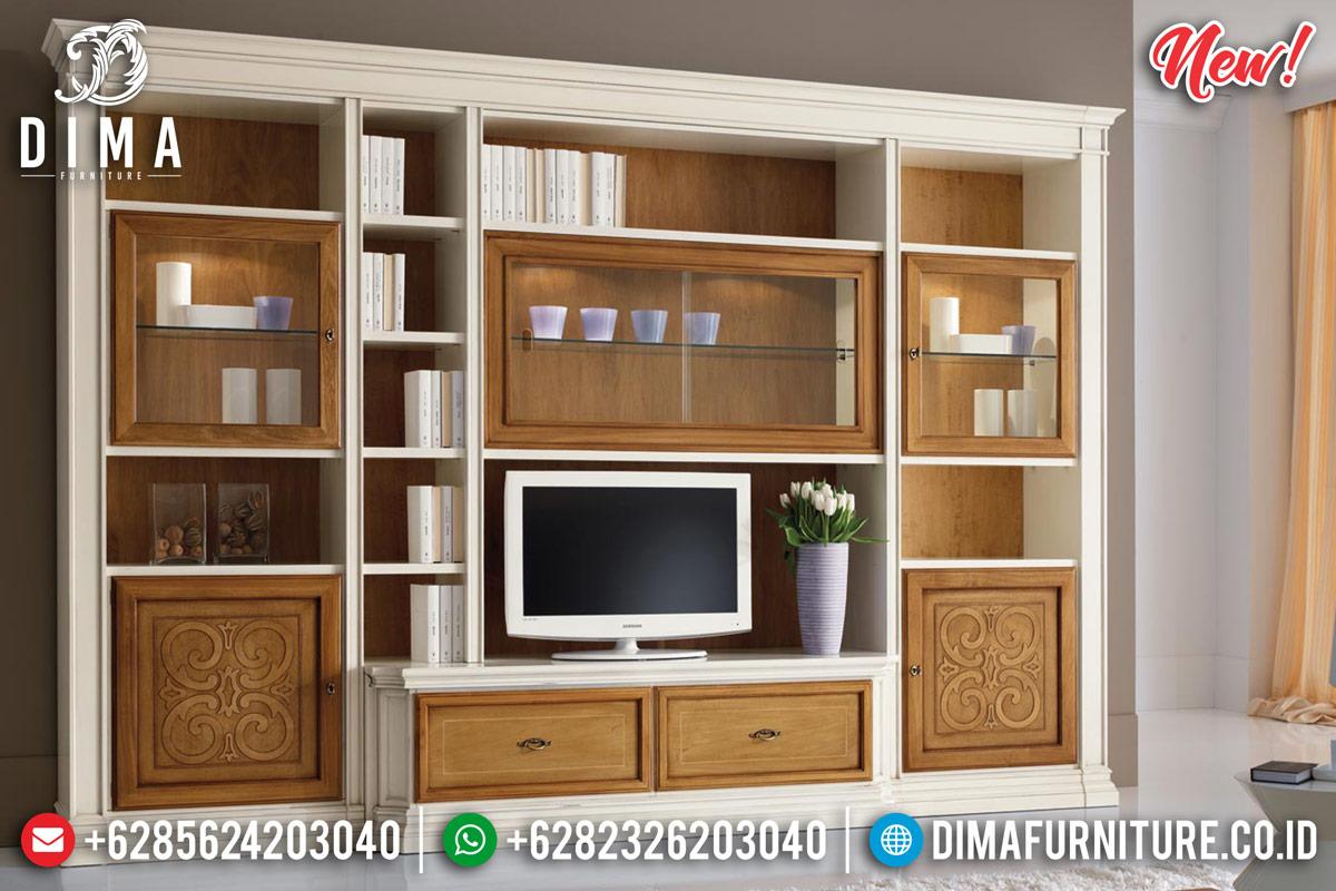 New Desain Bufet TV Jepara Minimalis Terbaru TTJ-0130