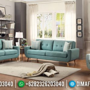 New Motif Sofa Tamu Minimalis French Vintage TTJ-0138