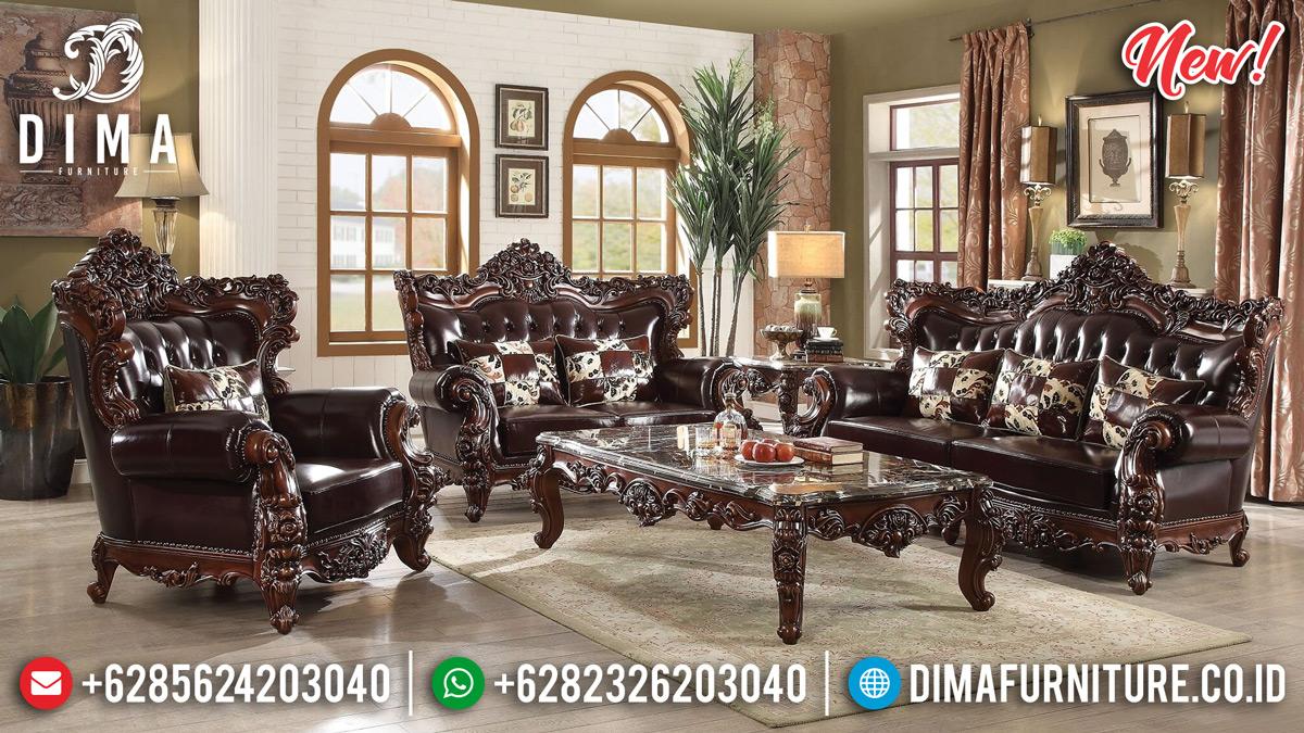 Set Sofa Tamu Mewah Klasik Ganesha Terbaru 2020 TTJ-0152