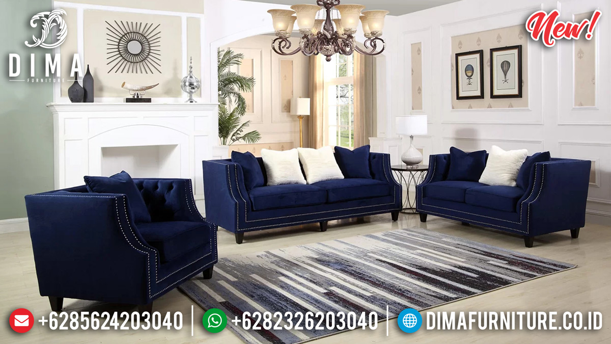 Set Sofa Tamu Modern Jepara Desain Elegan Minimalis Terpopular TTJ-0141