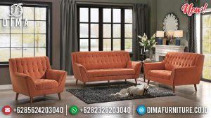 Spesial Tahun Baru Set Sofa Tamu Minimalis Cantik Jepara TTJ-0140