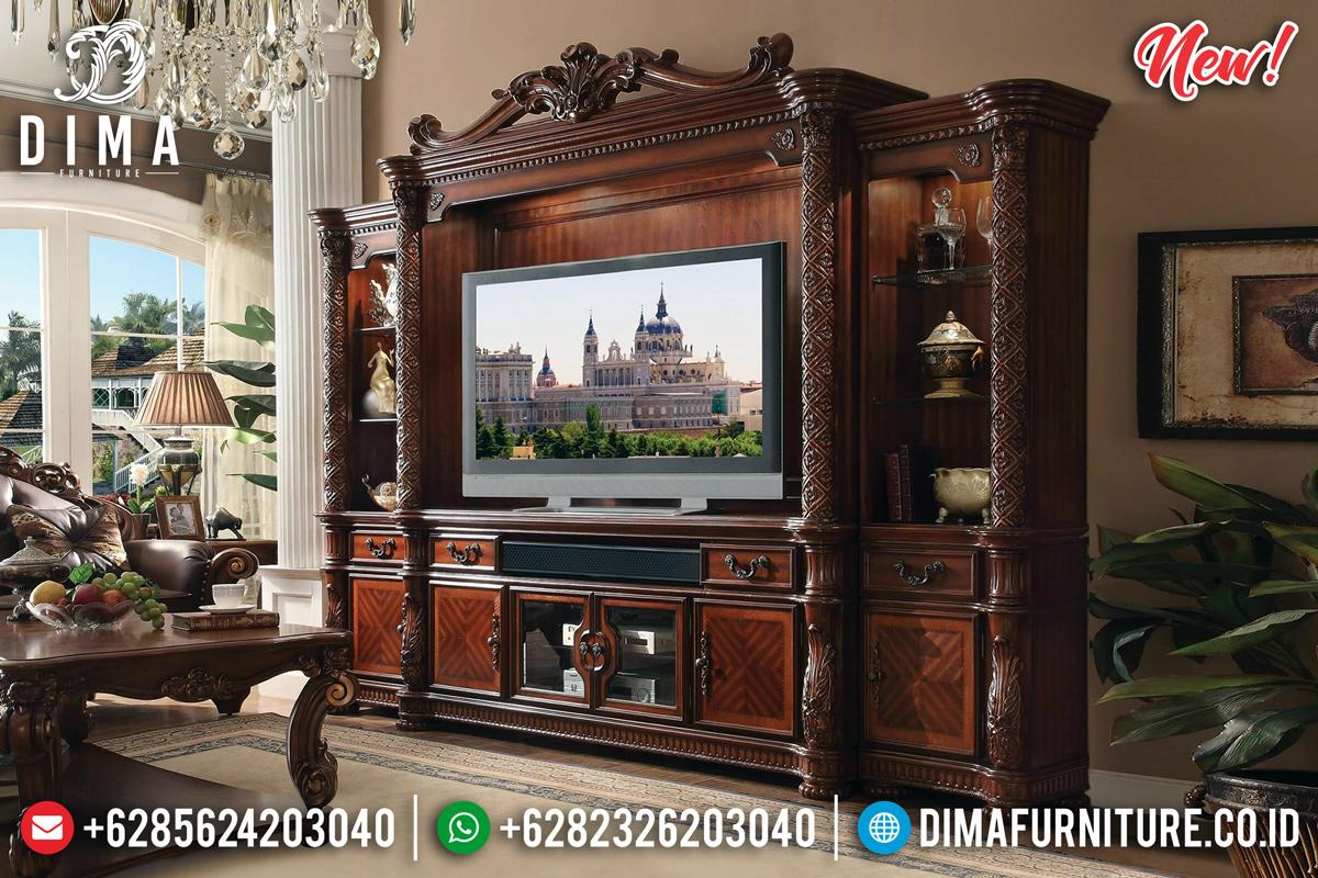 Superior Bufet TV Mewah Jati Luxury TTJ-0105