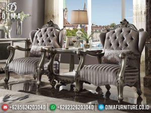 Coffee Table Jepara, Kursi Teras Mewah, Sofa Santai Ukiran TTJ-0299