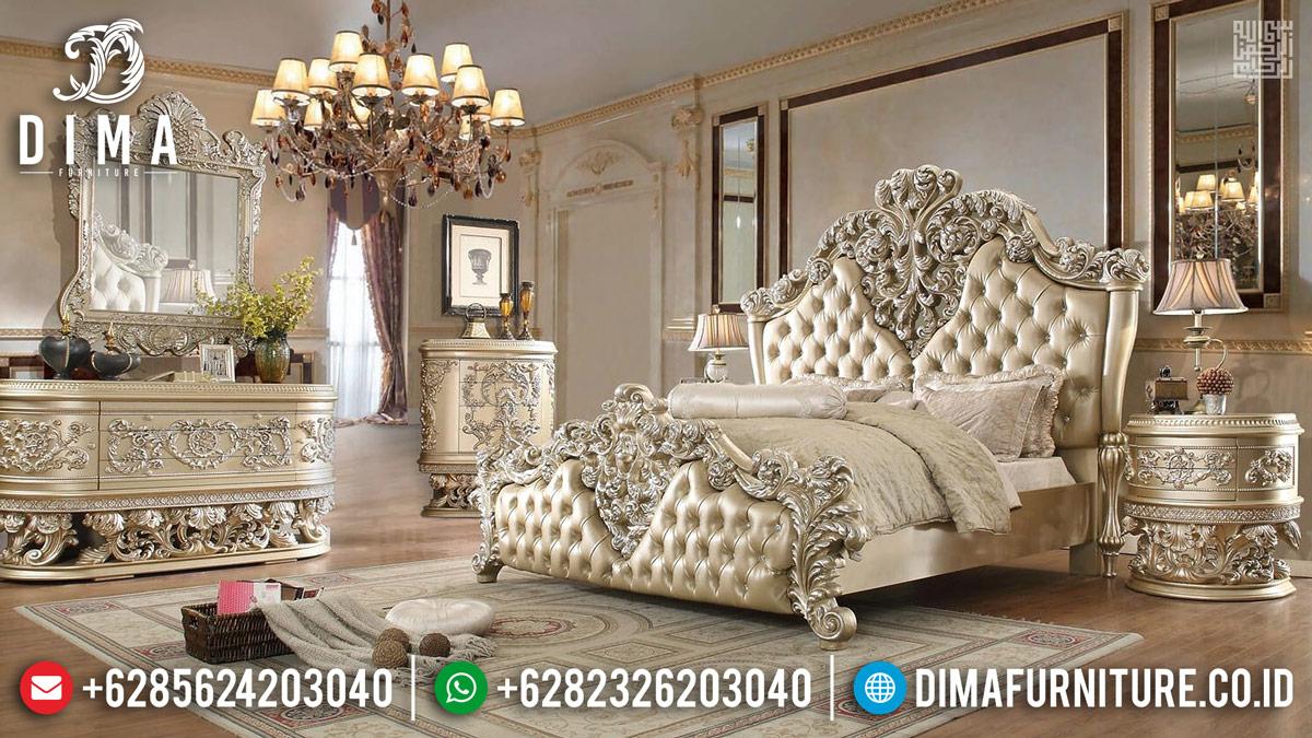 Furniture Mewah Jepara Tempat Tidur Mewah Super Luxury Carving TTJ-0271