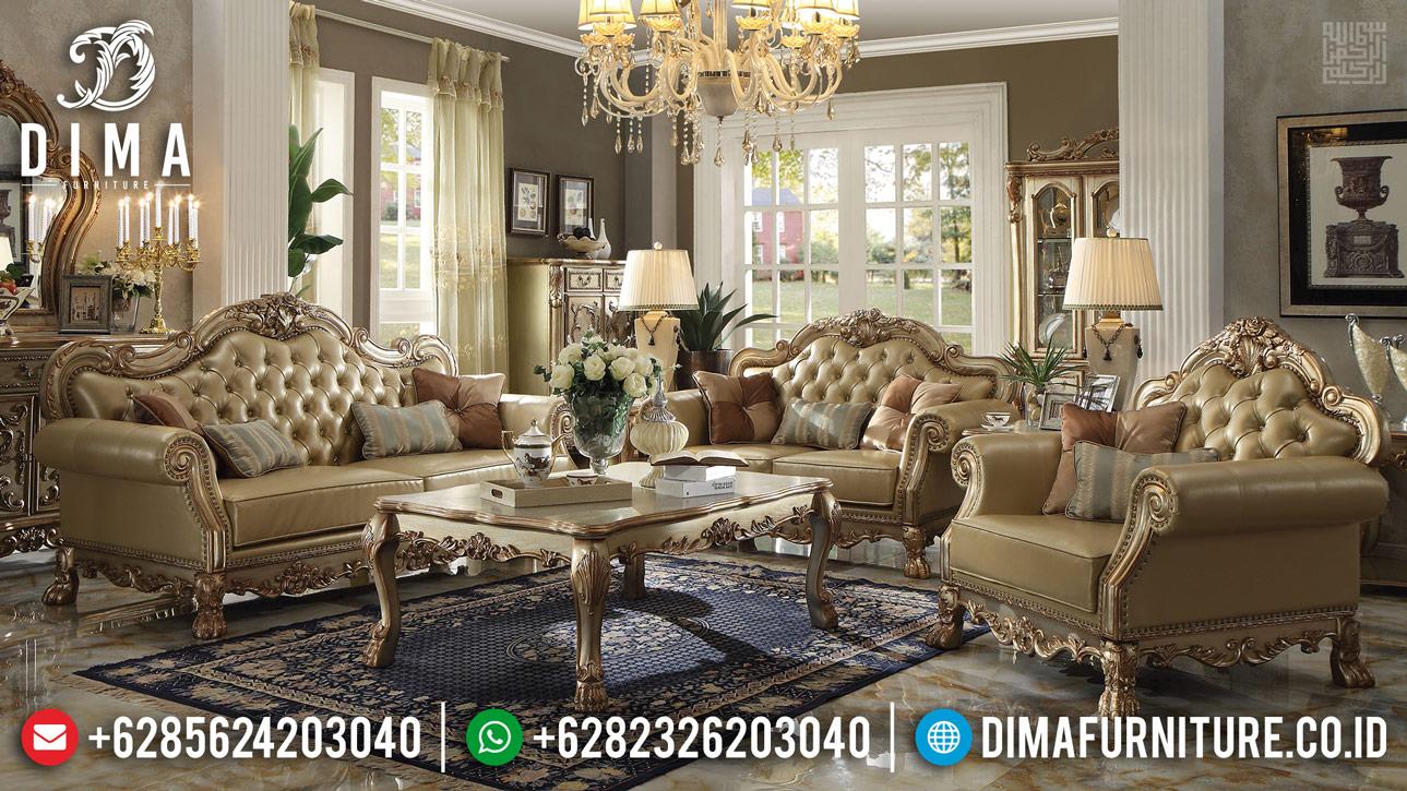 Harga Discount Sofa Tamu Mewah Ukiran Jepara Klasik TTJ-0361