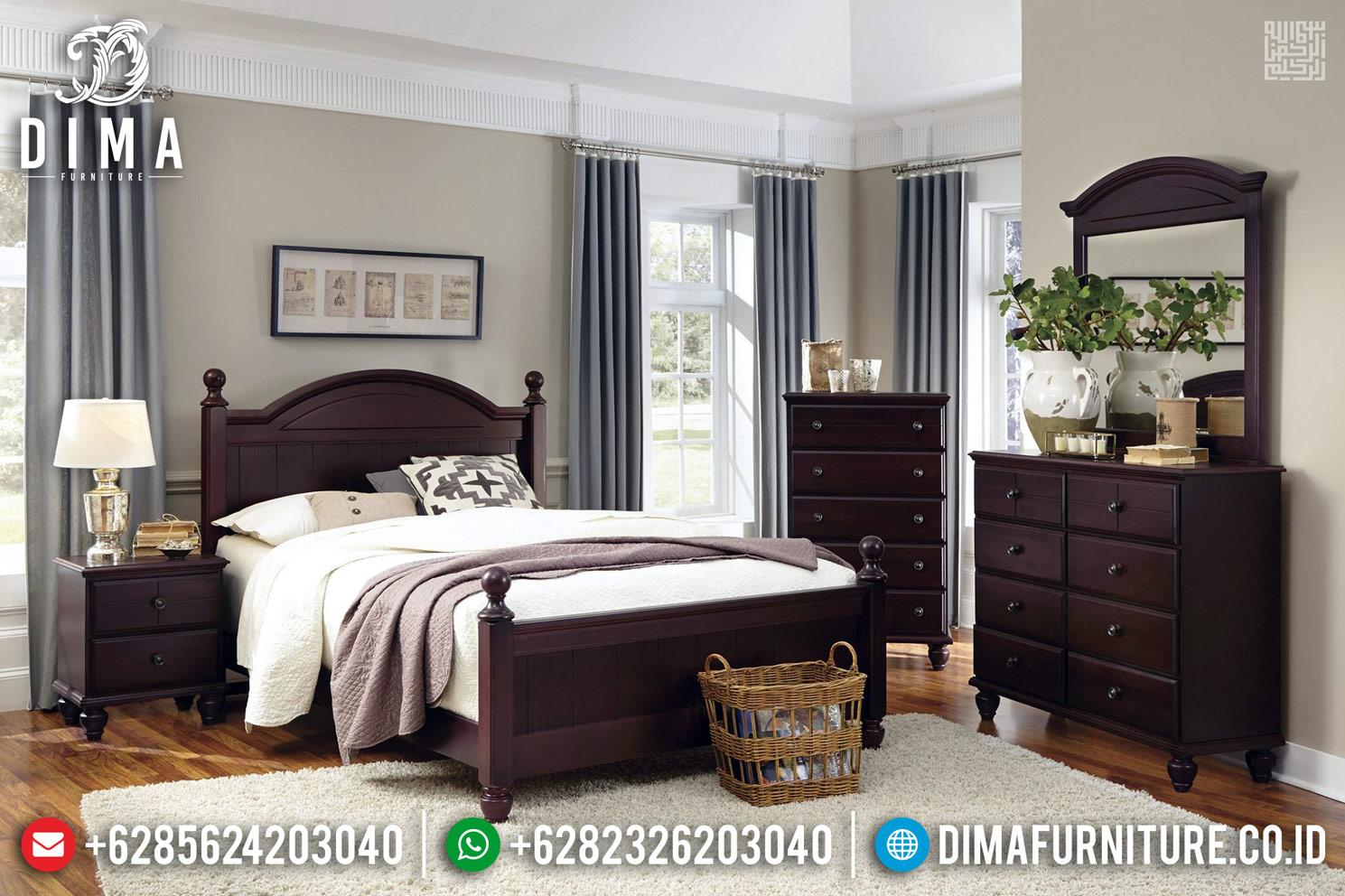 Harga Discount!!! Tempat Tidur Jati Minimalis Jepara Terlaris TTJ-0265