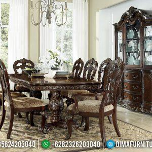 Harga Meja Makan Jepara Alexis Desain Interior Klasik TTJ-0231