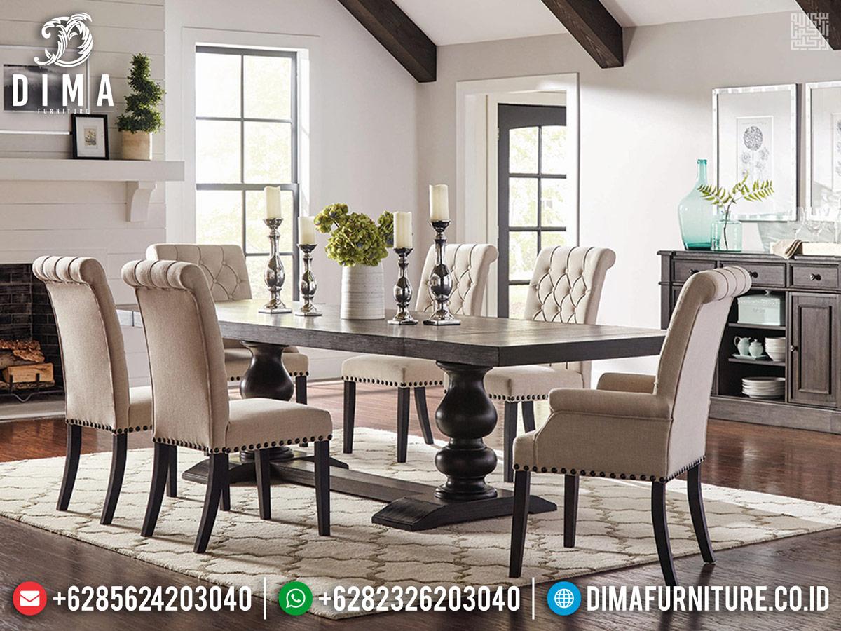 Jual Meja Makan Jepara Vintage Retro Furniture Minimalis TTJ-0229