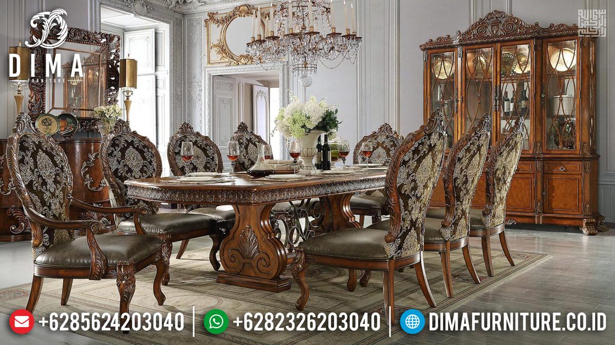 Jual Meja Makan Mewah Goliath Natural Luxury Classic TTJ-0222