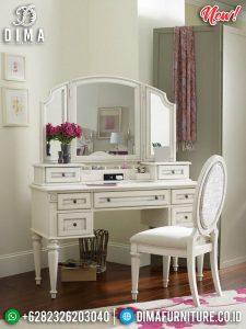 Jual Meja Rias Minimalis Jepara Putih Duco Glosssy Terbaru TTJ-0307
