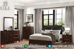 Jual Tempat Tidur Jati Natural Salak Minimalis Modern TTJ-0342
