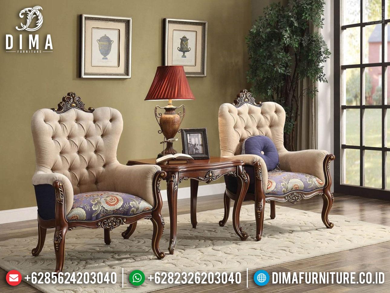Kursi Teras Jati Natural Mewah, New Sofa Santai Jepara TTJ-0300