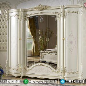 Lemari Pakaian Mewah Carlotta Furniture Jepara Terbaru TTJ-0219