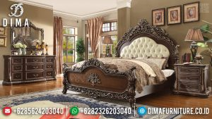 New Design Tempat Tidur Mewah Classy Versace Jepara TTJ-0335