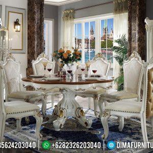 New Meja Makan Mewah Desain Interior Luxury Kingdom TTJ-0241