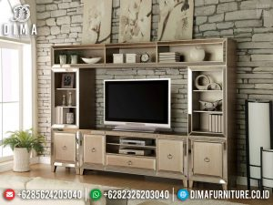 New Models 2020 Bufet TV Mewah Jati Modern Minimalis TTJ-0340