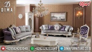 New Models Sofa Tamu Mewah Luxurian Italy Style TTJ-0249