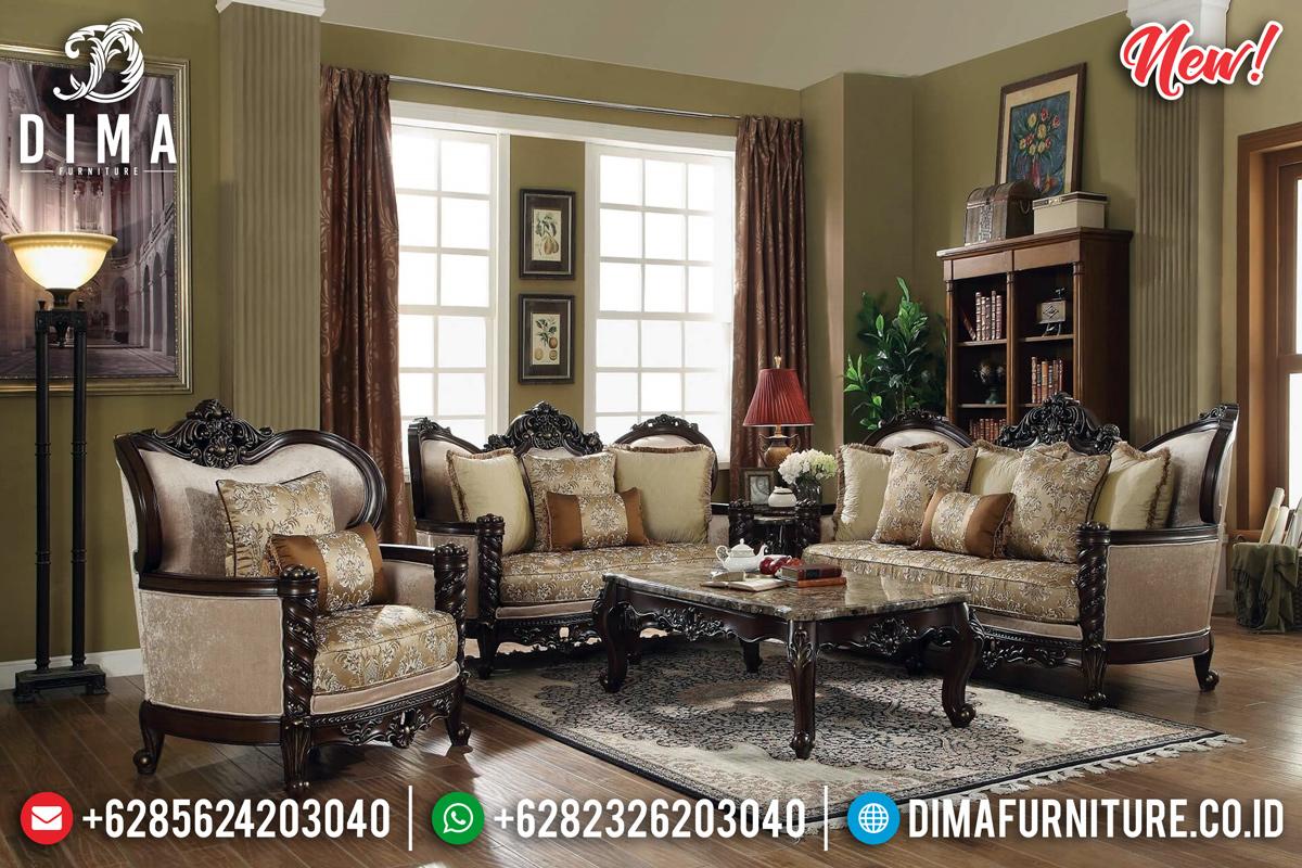 New Set Sofa Tamu Mewah Cruiser Ukiran Klasik Jepara TTJ-0182