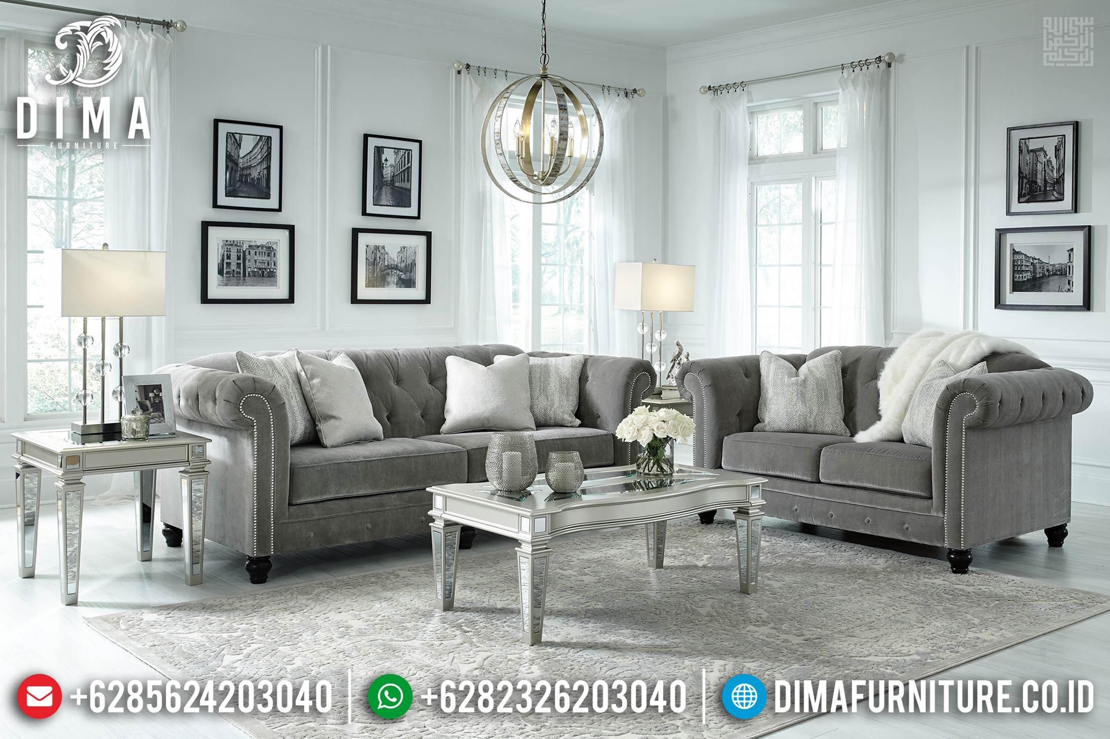 New Sofa Tamu Chesterfield Modern Glass Combined TTJ-0370