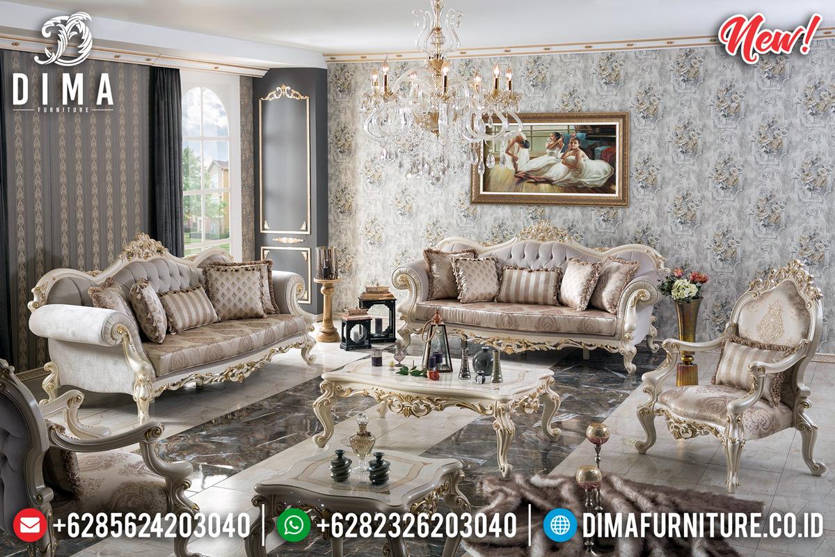 Set Sofa Tamu Mewah Ukir Jepara Terpopular TTJ-0195