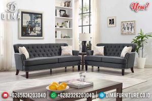 Sofa Tamu Jepara Modern Minimalis Retro Terlaris TTJ-0199