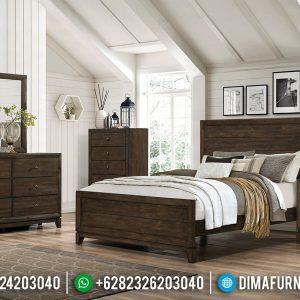 Tempat Tidur Jati Jepara Ranjang Minimalis Harga Ekonomis TTJ-0344