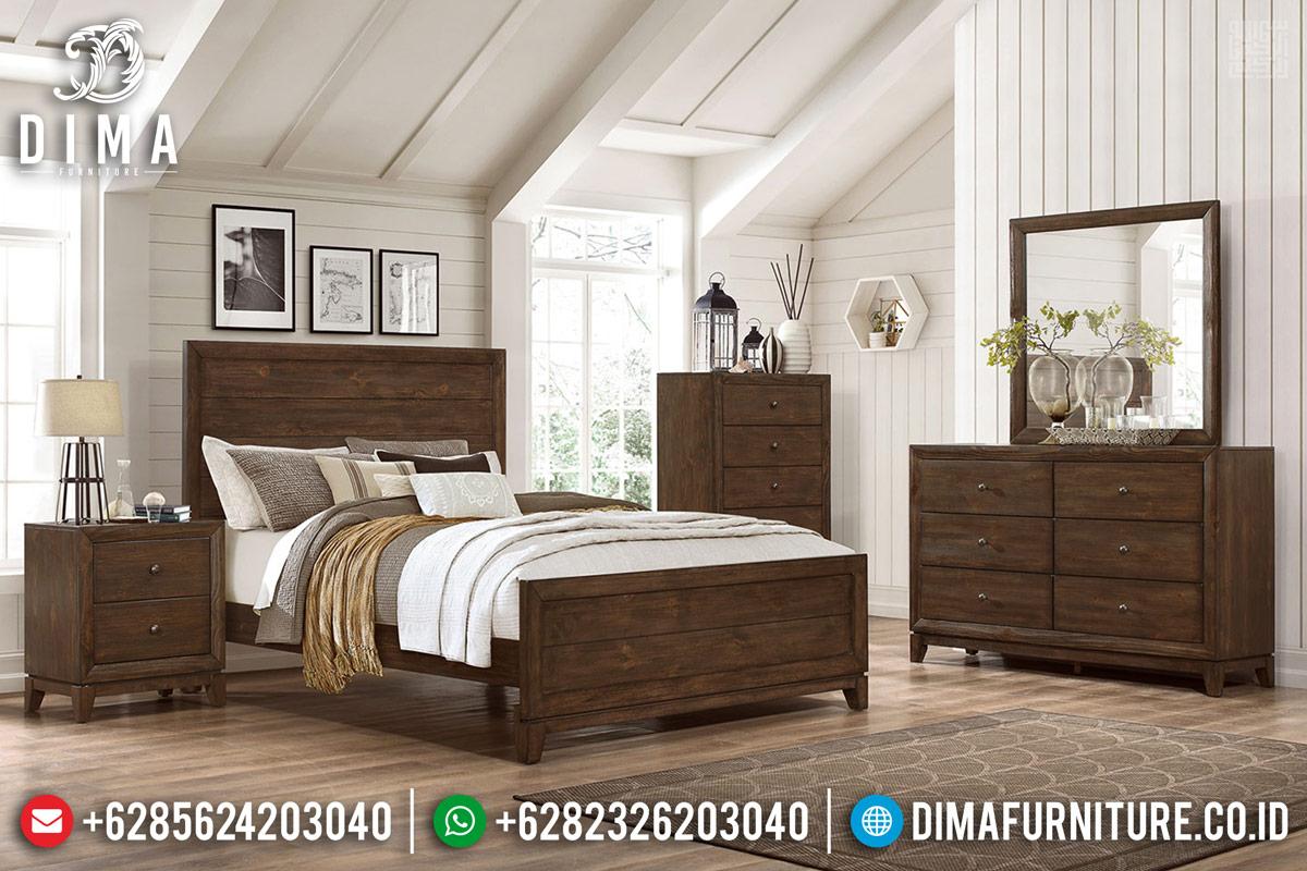 Tempat Tidur Jati Murah Berkualitas Produk Asli Jepara TTJ-0283