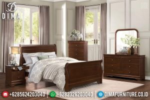 Terbaru Set Tempat Tidur Jati Glorious Jepara TTJ-0347