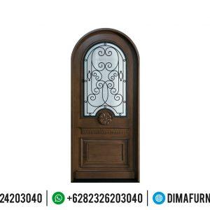 Best Seller Pintu Jati Jepara Mewah Natural Minimalis Ukiran TTJ-0511