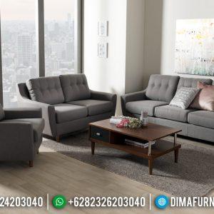 Desain Sofa Tamu Modern Minimalis Furniture Jepara Terpercaya TTJ-0452