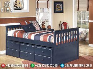 Furniture Jepara Terlaris Dipan Tingkat Anak Cat Duco TTJ-0415