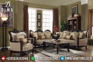 Furniture Jepara Terlengkap Sofa Tamu Mewah Jepara Natural Jati New Design 2020 TTJ-0392